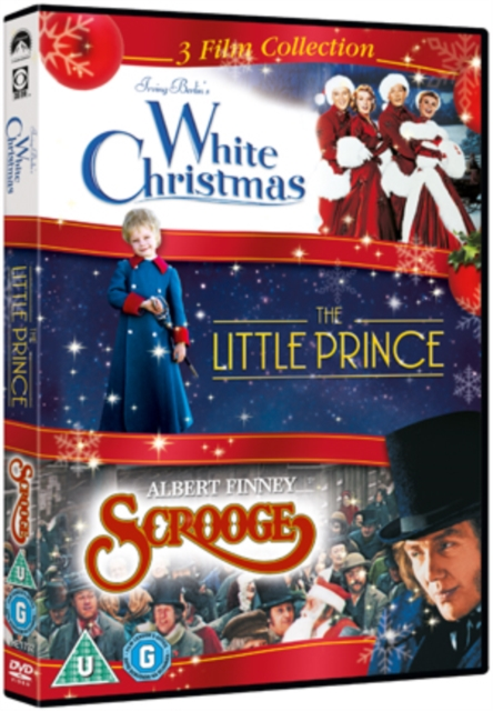 White Christmas The Little Prince Scrooge 3dvd Musical Paradise